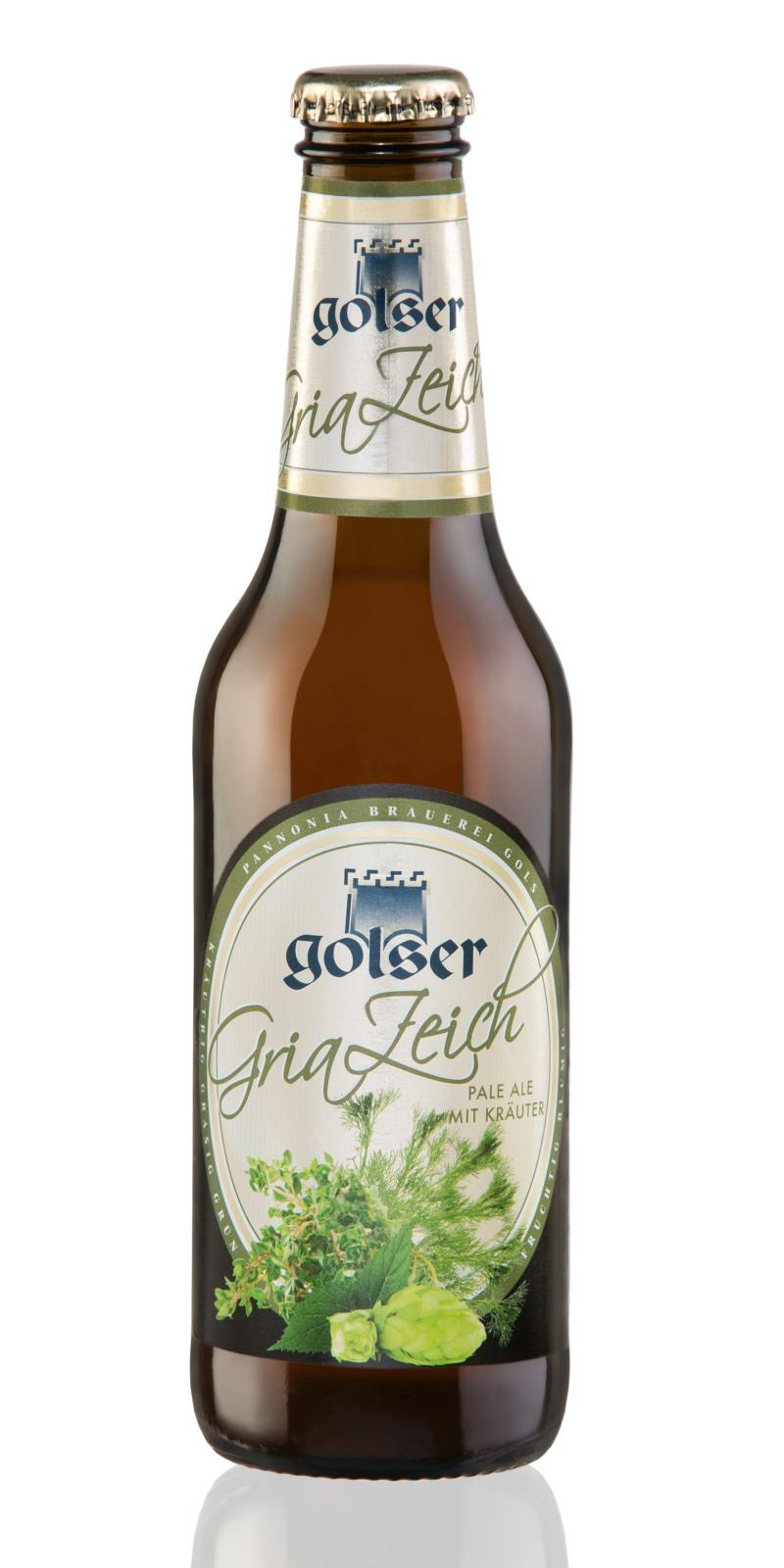 Golserr burgenländisches Bier Kräuter