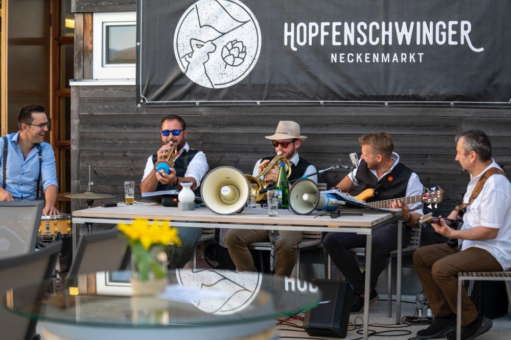 Hopfenschwinger Bier Burgenland